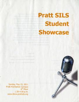 Pratt SILS Student Showcase program brochure, 2011