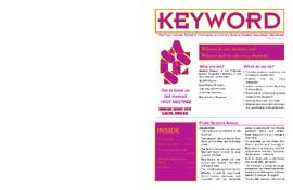 Keyword, Fall 2007 Guide
